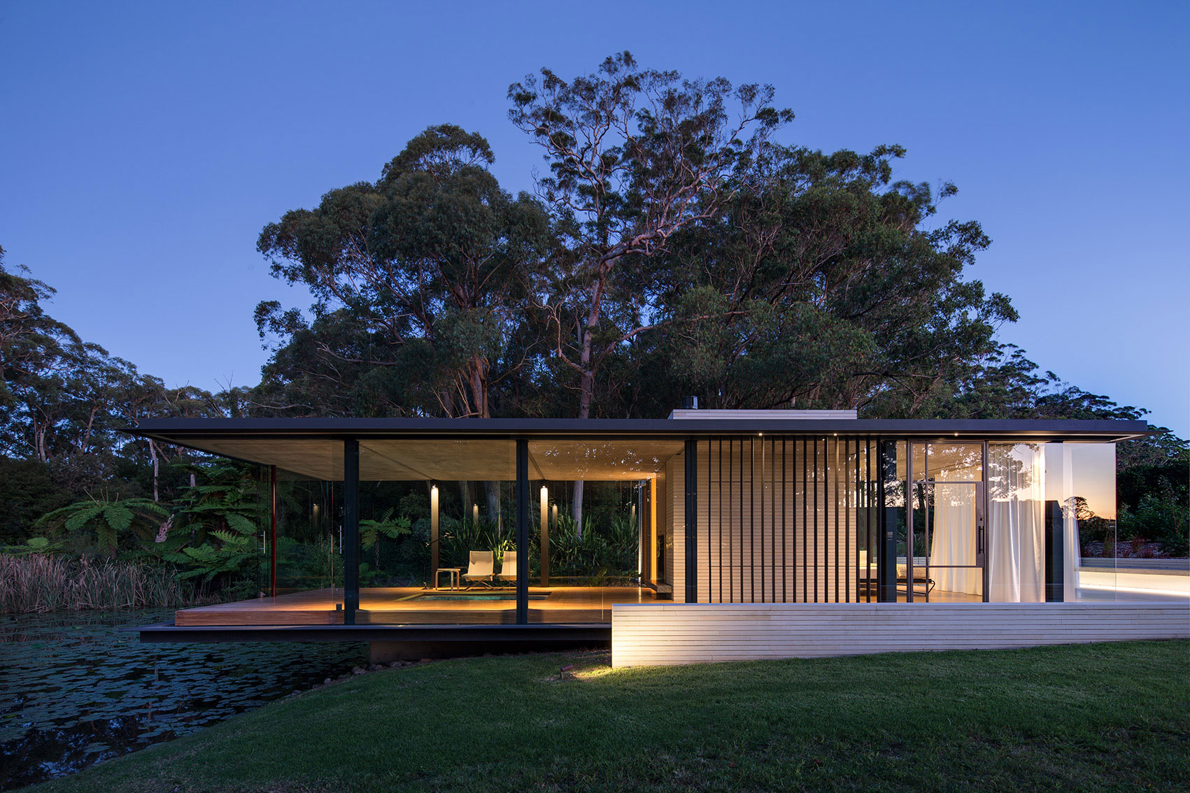 Wirra willa pavilion matthew woodward architecture for Pavilion style home designs